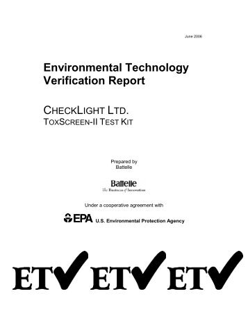 ToxScreen-II Test Kit