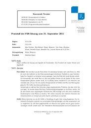 Protokoll der FSR-Sitzung vom 21. September 2011 - Fachschaft ...