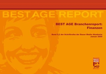 BEST AGE Branchenreport: Finanzen