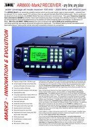 AOR AR-8600 MKII(AR 8600 MKII AR8600MKII