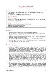 Le gaullisme est-il mort - CRDP Aquitaine
