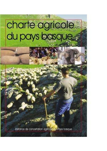 Charte agricole du Pays Basque