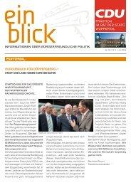 edItorIal - CDU-Fraktion im Rat der Stadt Wuppertal