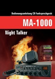 Bedienungsanleitung MA-1000 Night Talker