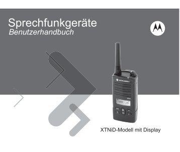 Handbuch Motorola xtniD