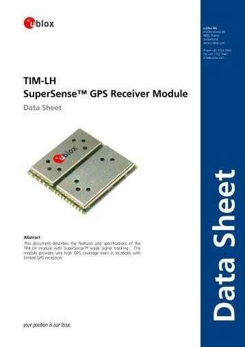 Tim Lh Supersense Gps Receiver Module