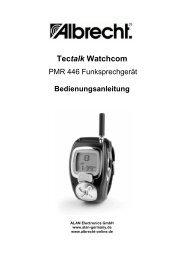 tectalk-watchcom-deu.. - Alan-Albrecht Service-Homepage - Alan ...