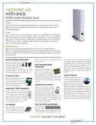 NEOWARE c50 WITH LINUX - Parrus IT Solutions