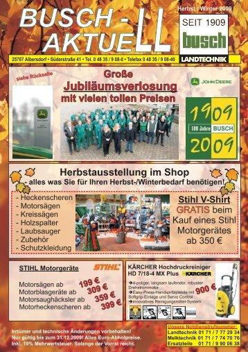 Ausgabe Herbst / Winter mit Jubilä - Busch Landtechnik