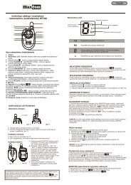 Instrukcja obs³ugi i exploatacji radiotelefonu (krótkofalówki) WT308