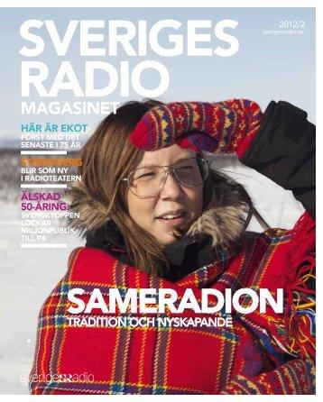 Radiomagasinet nr 2, 2012 (pdf) - Sveriges Radio