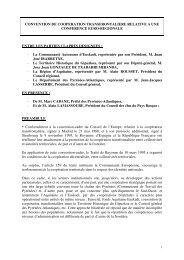 CONVENTION DE COOPERATION ... - CRDP Aquitaine