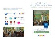 A la découverte du patrimoine de l'éducation : - CRDP Aquitaine