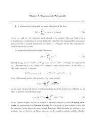Chapter 7: Trigonometric Polynomials By a trigonometric polynomial ...