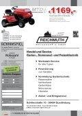 reichmuth - Rasenmäher, Rasentraktor, Akku-Mäher, Motor-Sägen ... - Page 4