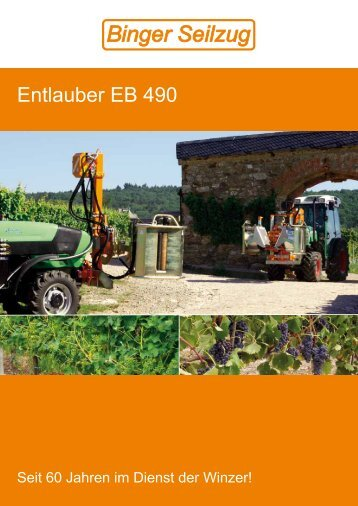 Entlauber EB 490 - www.irms.de