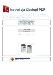 Instrukcja obsługi HARVIA BC35E - INSTRUKCJA OBSLUGI PDF