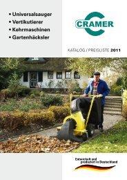• Universalsauger • Vertikutierer • Kehrmaschinen ... - www.irms.de
