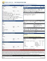 test requisition form - Emory University Department of Human Genetics