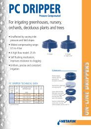 For irrigating greenhouses, nursery, orchards, deciduous plants and ...