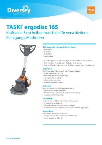 TASKI® ergodisc 165