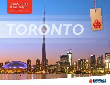 Toronto - Cushman & Wakefield's Global Cities Retail Guide
