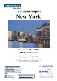 11 21 Reiseprogramm New York 1