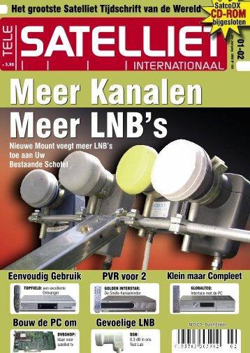 INTERNATIONAAL - TELE-satellite International Magazine