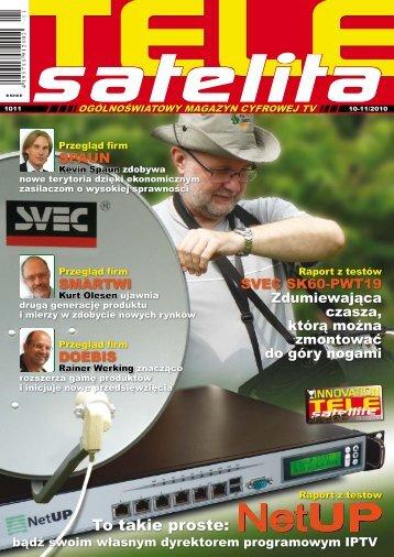 To takie proste: - TELE-satellite International Magazine