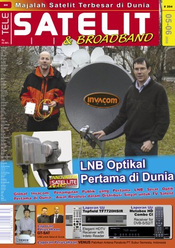 GT-SAT - TELE-satellite International Magazine