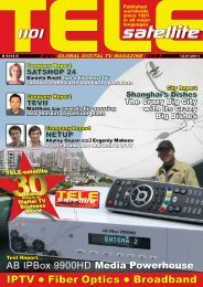 TELE-satellite International Magazine