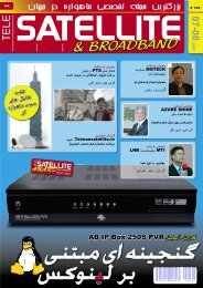 & BROADBAND - TELE-satellite International Magazine