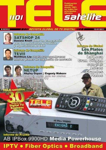 TELEsatélite - TELE-satellite International Magazine