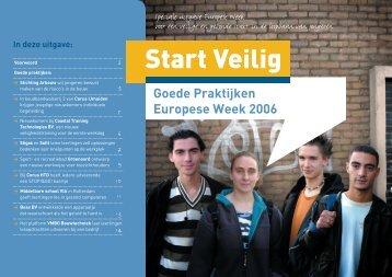 E-zine Goede Praktijken 2006: Start Veilig - Europa
