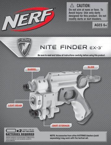 Nerf Nite Finder - Funskool