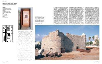 Castillo de la Luz in Las Palmas - Bauwelt