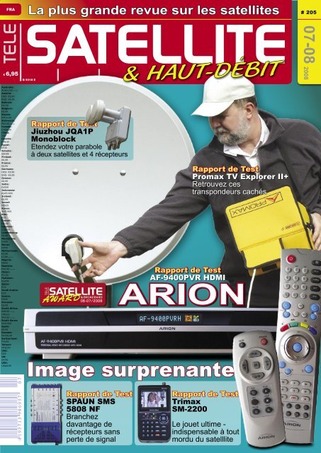 Avis De L Expert Tele Satellite International Magazine