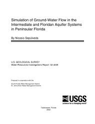 Simulation of Ground-Water Flow in the ... - Florida - USGS