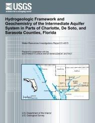 Hydrogeologic Framework and Geochemistry of the ... - Florida - USGS