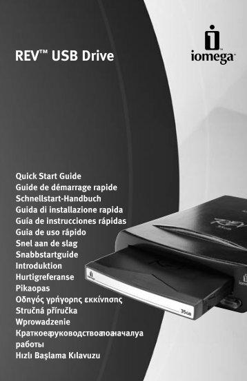 REV™ USB Drive - Iomega