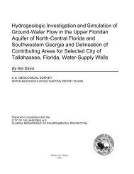 Hydrogeologic Investigation and Simulation of ... - Florida - USGS