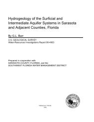 Hydrogeology of the Surficial and Intermediate ... - Florida - USGS