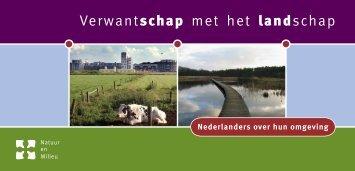 Verwantschap met het landschap - Natuur en Milieu - Stichting ...