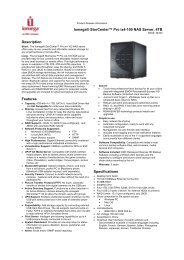 Iomega® StorCenter™ Pro ix4-100 NAS Server, 4TB Description ...
