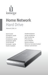 Home Network Hard Drive - Iomega