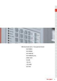 MB-Zentralenreihe / Kompaktzentralen 561-MB24 561-MB48 561 ...