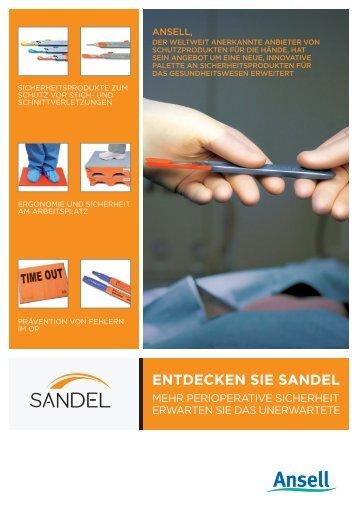 EntdEckEn SiE SandEl - Ansell Healthcare Europe