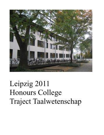 Verslag excursie Leipzig