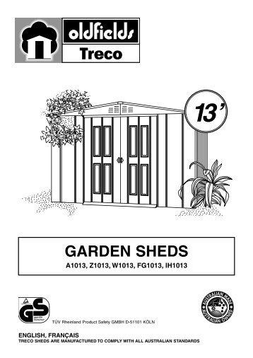 Notice de montage id247 france abris - Notice de montage abri de jardin ...