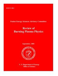 Review of Burning Plasma Physics - The FIRE Place